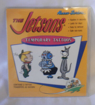 The Jetsons Temporary Tattoos Elroy Rosie Astro 1992