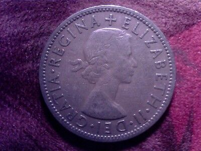 Great   Britain   Two  Shillings    1955   Au10