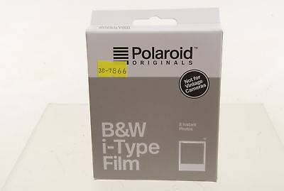 Polaroid B&W Monochrome i-Type Instant Film for iType only. Graded: NEW [#7866]