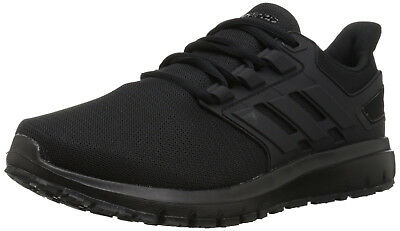 Mens Adidas Energy Cloud 2 All Black Running Athletic Sport Shoes B44761 Size 14