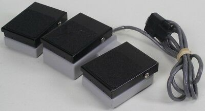 Philips Triple Pedal Foot Switch Ultrasound ie33/iu22 3300-0355-01 IPX-1