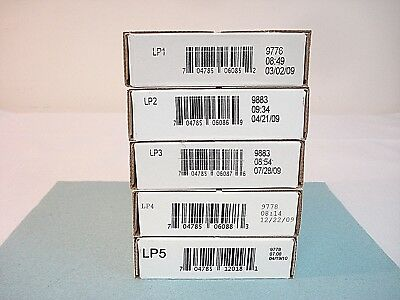 2009 - 2010 Mint Lincoln Penny P and D Rolls LP1 LP2 LP3 LP4 LP5 Sealed Boxes