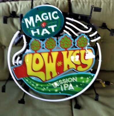 New In Original Box Magic Hat Low Key Session Ipa Led Lighted Sign