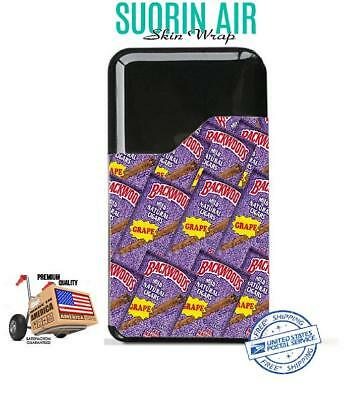Suorin Air  Skin Wrap Protective Vinyl Decal Case Cover Sticker Backwoods 38