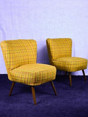 Pair of vintage Scandinavian chairs