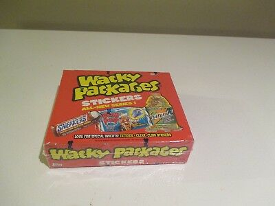 2004 Topps Wacky Packages Series 1 Box - Factory Sealed Box