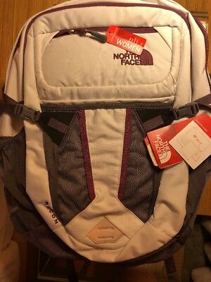 f967b438e North Face Women's Recon Backpack Vaporous Grey Light Heather/Rabbit One  Size