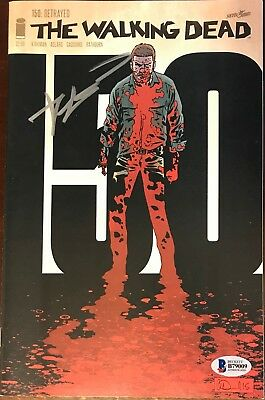 Robert Kirkman The Walking Dead Autographed Auto Signed Beckett Comic #150