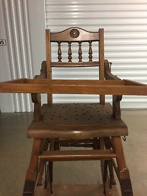 Victorian Antique Baby Chair - 19th Century