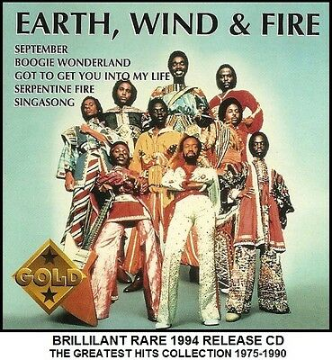 Earth Wind & Fire - Best Greatest Hits Collection - RARE 1994 Disco Funk Soul CD