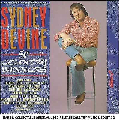 Sydney Devine Very Best 50 Greatest Country Music Hits Compilation RARE 1987 CD
