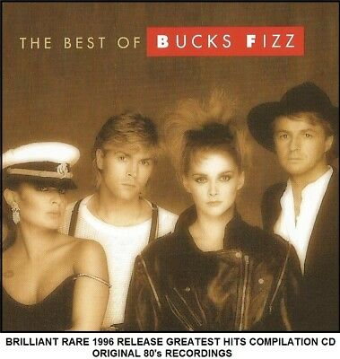 Bucks Fizz - The Very Best Greatest Hits Collection RARE 80's Pop Eurovision CD