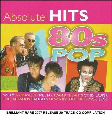 Best Greatest 80's Hits CD - Wham Bros Rick Astley Alison New Kids On The Block