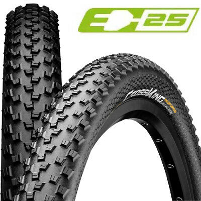 "2x Continental Reifen Cross King 2.2 Performance 27.5x2.20/"" 55-584 Skin schwarz"