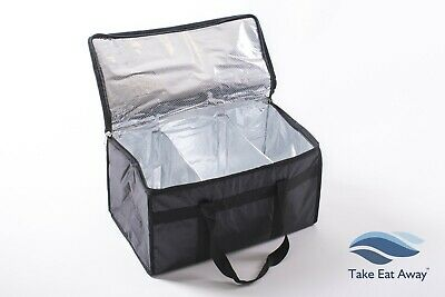 Catering Events Bags with dividers Strong Insulated Thermal Food Delivery BagT20
