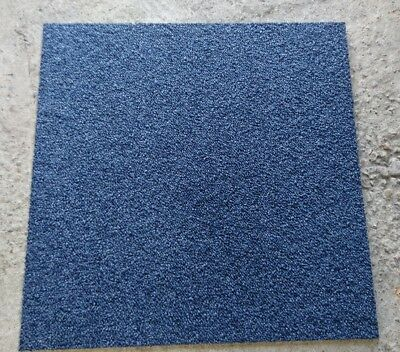 BLUE INTERFACE FLOOR CARPET TILES GRADE A 50x50cm (DELIVERY AVAILABLE)