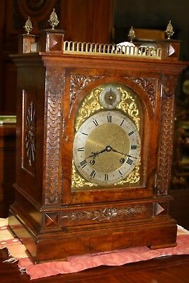 Mantle Clock Walnut