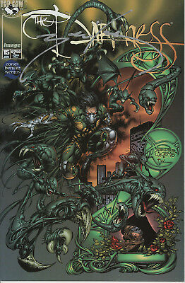 Darkness #15 (1998) Nm/mint Image Topcow Signed By Joe Benitez