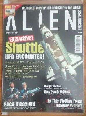 Alien Encounters mag issue 11 1997 ufo paranormal thought control roswell