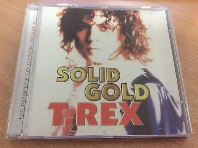 T-Rex Solid Gold The Definitive Collection Volume 2 (2003) Cd Album Mb12