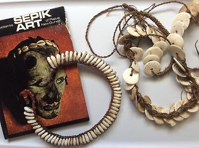 Papua New Guinea Shell Necklaces With Provenance.