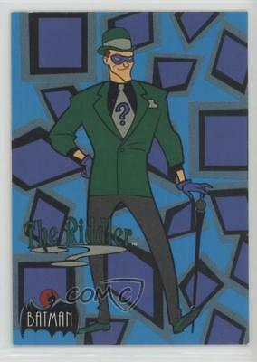 1993 Topps Batman: The Animated Series #23 Riddler Non-Sports Card 1k3