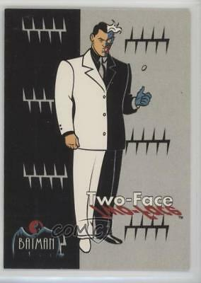1993 Topps Batman: The Animated Series #25 Two-Face Non-Sports Card 1k3