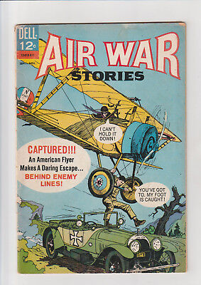 Air War Stories #5 G 1965 Dell