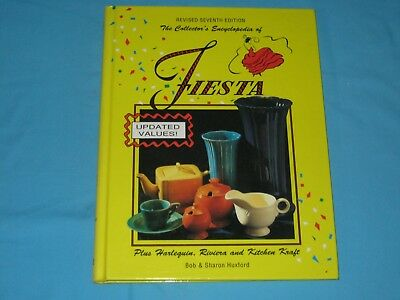 The Collector's Encyclopedia of Fiesta Plus Harlequin, Riviera, Kitchen Kraft