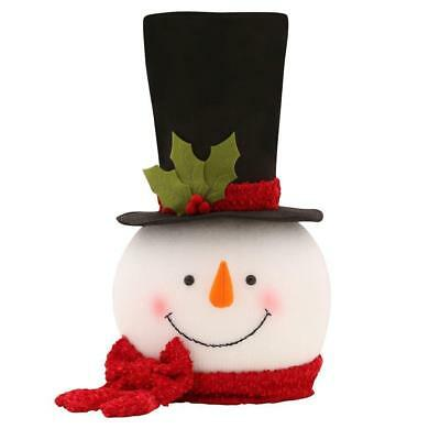 Home Accents Holiday 18 inch Snowman Christmas Tree Topper!