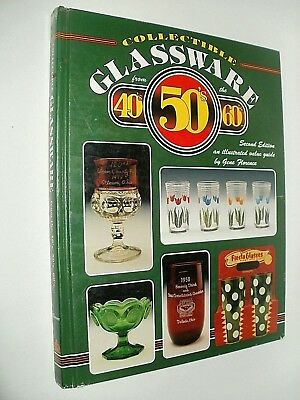Gene Florence Second Edition Collectible Glassware from the 40's 50's 60's