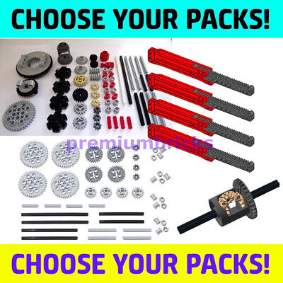 LEGO Technic U PICK - GEAR PACKS robot axle part kit set lot mindstorms ev3 bulk