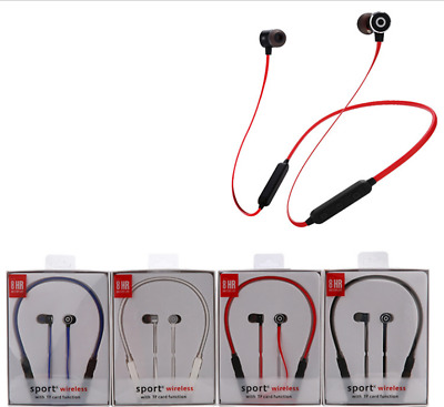 8HR True Hi-Fi Stereo Sounds Wireless Bluetooth Sport  Headphones