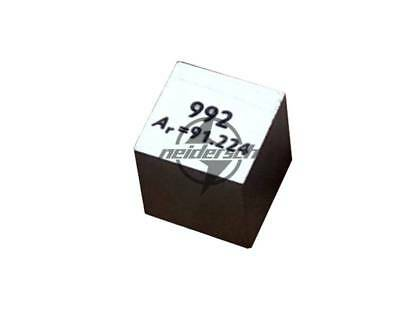 High Purity 99.2% Zirconium  Metal ZR 6.44g Carved Element Periodic Table 10mm