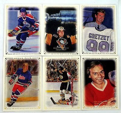 2008-09 UD Masterpieces Hockey Base Cards - Cards 1 through 86 - You Choose