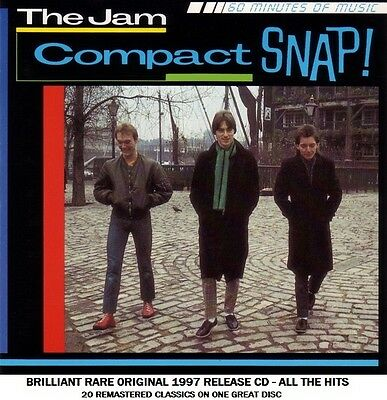 The Jam - Very Best Essential Greatest Hits Collection CD - MOD 70's Paul Weller