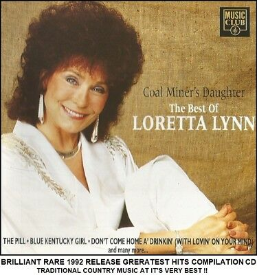 Loretta Lynn Best Greatest Hits Collection Country Music CD Coal Miners Daughter