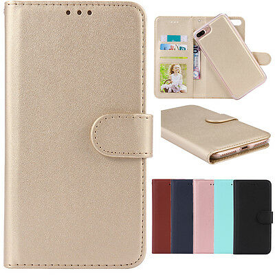 Magnetic Leather Detachable Wallet Case Cover For iPhone XS Max XR 8 7 6S 6 Plus