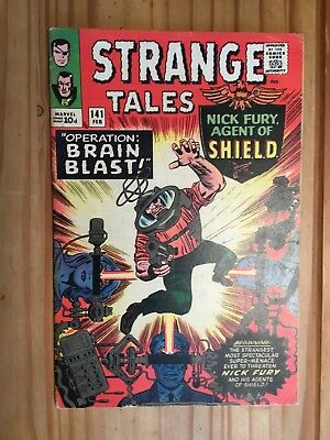 Strange Tales # 141 Marvel , Shield and Doctor Strange,1966 Grade VG/FN