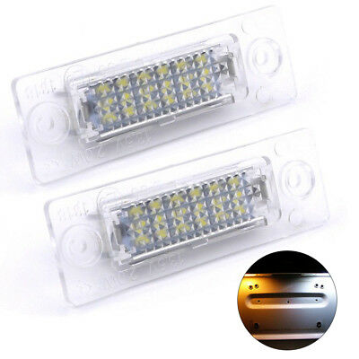 Car LED Licence Number Plate Light For VW Transporter T5 Caddy Touran Jetta UK