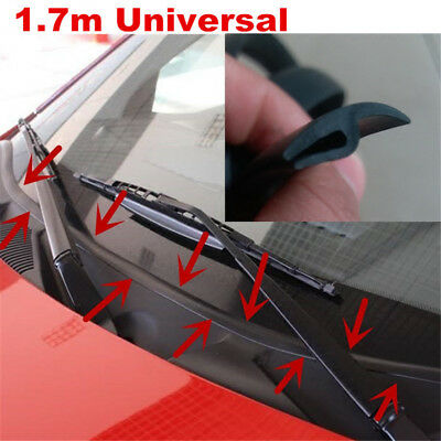 Car Ageing Rubber Seal Under Front Windshield Panel Sealed Trim Moulding Strips