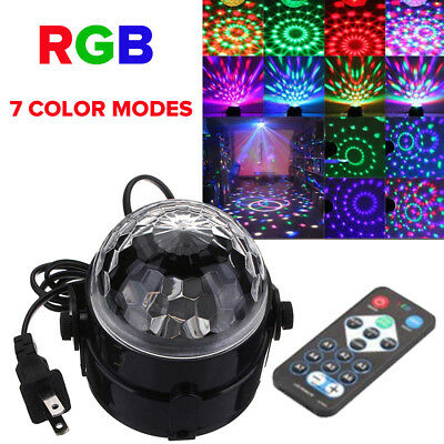 Mini DJ Club Disco KTV Party Multi Color LED Ball Laser Projector Stage Light