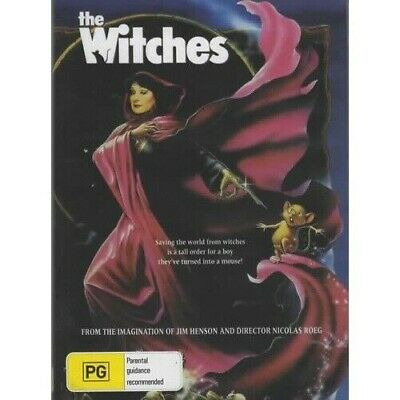 The Witches Dvd = (MOD) Free Au Post  =