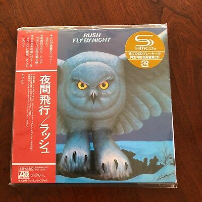 Rush Fly By Night Shm Cd, (Remaster) Japan,