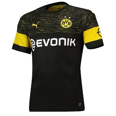 Official BVB Borussia Dortmund Football Away Shirt Jersey Tee Top 2018 19 Mens