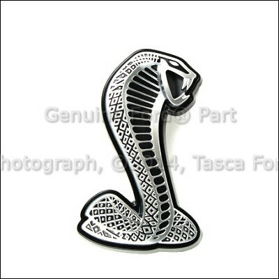 Brand New Shelby Cobra Front Grille Emblem 2006-2009 Ford Mustang #7R3Z-8A224-A
