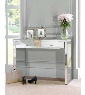 Modern Mirrored Hallway console Dressing Table  Free Melboune Delivery