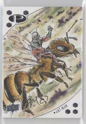 2017 Upper Deck Marvel Premier Sketch Cards #SKT Fran Fdez Non-Sports Card 5i7