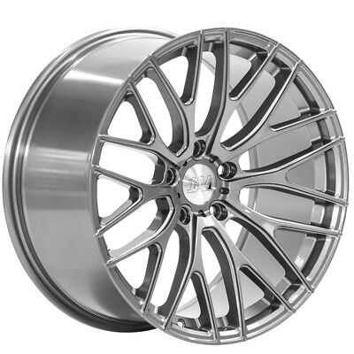 18 Inch 1av Zx6 5x114 3 Et40 8 5j White Alloy Wheels Acura Tl Type S