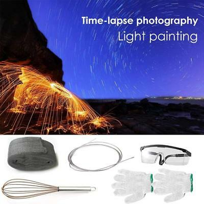 Photography Props Steel Wool Fireworks Light Painting Graffiti Long-Exposure Set